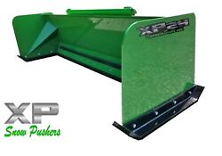 7and039 Xp24 John Deere Snow Pusher - Tractor Loader - Local Pick Up