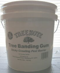 Treekote Tree Banding Gum Insect Barrier 8 Lb. Pails Sold As 1 Box Of 2 Pails