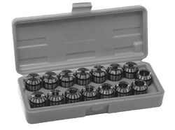 Sowa / Gs Tooling Er25 1.5-16mm 15pc.. Collet Set Free Shipping