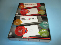 Nintendo New 3ds Xl Systems In Boxes You Pick Choose Color Free Ship