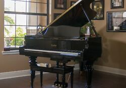 6' George Steck Baby Grand Piano