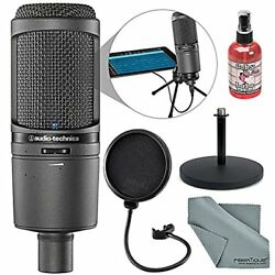 Audio-Technica AT2020USBi Cardioid Condenser USB Mac & Windows Compatible Microp