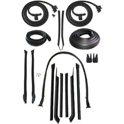 1965 Buick Lesabre And Wildcat Convertible Body Weatherstrip Seal Kit 2nd Type