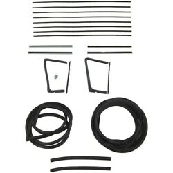 1954 1955 Buick And Oldsmobile 2dr Hardtop Glass Weatherstrip Seal Kit