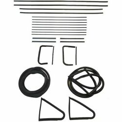 1954 1955 Buick Special And Olds Eighty Eight Glass Weatherstrip Seal Kit