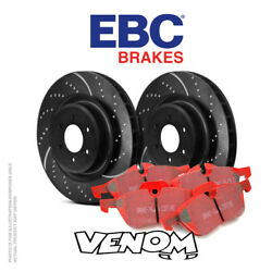 Ebc Front Brake Kit Discs And Pads For Audi S3 8p 2.0 Turbo 265 2006-2012