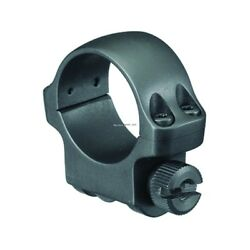 Ruger 3bhm Scope Ring W/hawkeye Matte Blued Finish 1 Inch Low Profile 90277