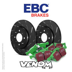 Ebc Front Brake Kit Discs And Pads For Peugeot 206 Cc 1.6 Disc Offset 27mm 01-07