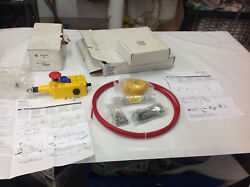 Allen Bradley 440e-l21bnyh 440e-a13080 Rope Pull Safety Switch W/install Kit New
