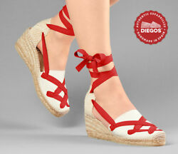 Choose The Color Of The Laces Original Pamplona Spanish Espadrilles Custom
