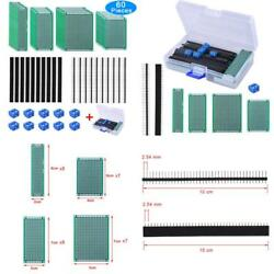 Austor 30 Pcs Double Sided Pcb Board Prototype Kit 4 Sizes Circuit Board With 20
