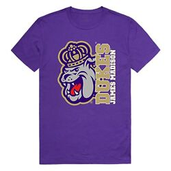 James Madison University Foundation Dukes NCAA College Ghost Graphic Tee T Shirt