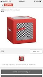 Supreme Illusion Coin Bank Ss18 Sold Out Confirmed Order