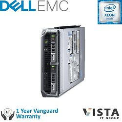 Dell PowerEdge M630 2P E5-2650 v4 2.2GHz 12C 64GB H730 2x300GB Blade Server