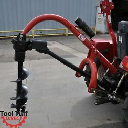 Model 400 3-point Post Hole Digger For Compact/subcompact/cat 0 Tractor