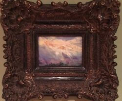 Magical Angelic Original Marcy Silveira Oil Painting Small