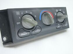 2002 Chevy Venture  Montana : OEM Climate Control AC Defrost Heat : 09364242