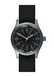 Mwc A-17 | 1950and039s U.s Army Korean War Issue | 24 Jewel Automatic | Satin Silver