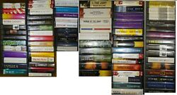 ***90 BRAND NEW AUDIO BOOKS LIBRARY EDITIONS. MIDWEST TAPES***