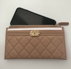 NIB CHANEL O CASE PHONE POUCH CASE WALLET RARE FIND