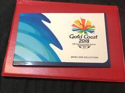2018 Gold Coast Xx1 Commonwealth Games 7 Coin Collection 05