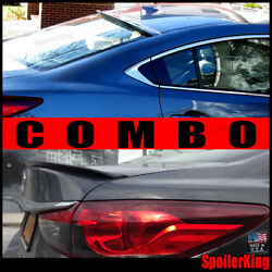 Combo Rear Roof Wing And Trunk Lip Spoiler Fits Mazda 6 2014-2018 284r/244l