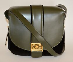 ETRO LEATHER SATCHEL PURSE TOTE ADJUSTABLE STRAP BAG WOMENS NEW