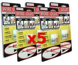 5x Highly Conductive Wire Glue / Paint For Ac/dc - No Soldering Iron