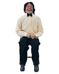 Morris Costumes Life Sized Foam Filled Latex Laughing Man Animated Prop. DU2628