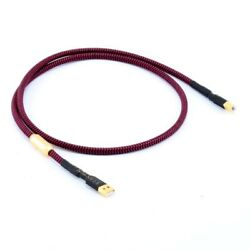6n Oxygen-free Copper Dac Data Line Gold Plated Head Hifi Usb Cable A To B