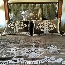 English Home Andldquohelenandrdquo Bedspread And 3 Matching Cushions Was Andpound1295.00 Now Andpound550.00