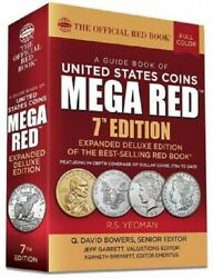 Official Redbook Guide United States Us Coins 2022 Mega Red Book 7th Edition New