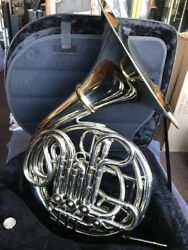 Conn 8D (screw bell) Double French Horn wCase Mpc made  Elkhart 1966 #H 31562