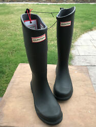Hunter for Target Men's Waterproof Rain Boots Black Size 7 brand-new OBO