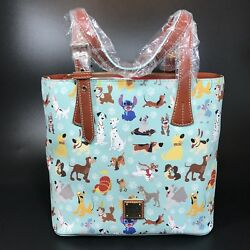 NWT Dooney & Bourke Disney Dogs Tote - Rare - Perfect Placement Lady Tramp Pluto