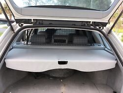 2000 Bmw Wagon Touring Rear Trunk Cover With Cargo Net 323ix 70 27 396