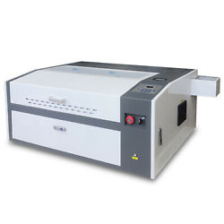 Usb 60w Co2 Laser Engraving Cutting Machine 500300mm With Rotary Attachment