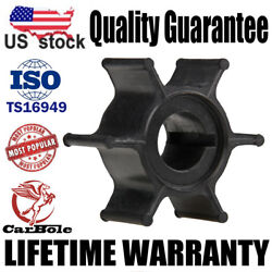 New Outboard Motor Water Pump Impeller For Yamaha 2 Stroke 6 Hp And 8 Hp 1984-2002
