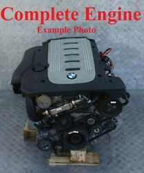 Bmw 5 Series E60 E61 530d Bare Engine Diesel M57n 306d2 218hp With 120k Warranty