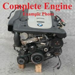 Bmw 5 Series E60 E61 530d Bare Engine Diesel M57n 306d2 218hp With 131k Warranty