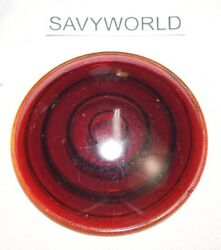 Red Glass Lens Ford Chevy Plymouth Old 1930's 1940's Nos Nors Used New Mopar Lot