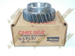 43p131 New Parker Chelsea Pto Adapter Gear - Oem 43-p-131