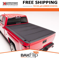 Bakflip Mx4 Hard Fold Tonneau Cover Fit 15-18 Gmc Sierra 3500 Hd 8and039 Bed