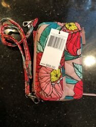 Vera Bradley All In One Crossbody For Iphone 6 Vintage Floral NWT $39.88