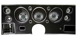 1970-72 Chevelle Direct Fit Classic Instruments Gauges All American Cv70aw