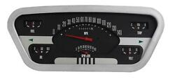 1953-1955 Ford F-100 Truck Direct Fit Classic Instruments Gauges Ft53oe