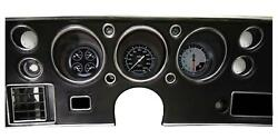 1970-72 Chevelle Ss Direct Fit Classic Instruments Gauges Auto Cross Cv70axg