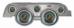 1967-1968 Ford Mustang Direct Fit Gauge G-stock Mu67gsba