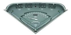 1955-1959 Chevrolet Chevy Truck Direct Fit Gauge Gray Tf01g