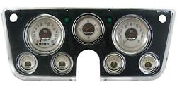 1967-1972 Chevrolet Chevy Truck Direct Fit Gauge American Nickel Ct67an